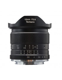 7ARTISANS 12mm f/2.8 per Sony E Black