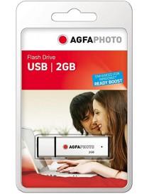USB 2.0 32GB Silver