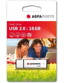 USB 2.0 16GB Silver