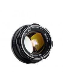 7ARTISANS 35mm f/1.2 per Sony E Silver